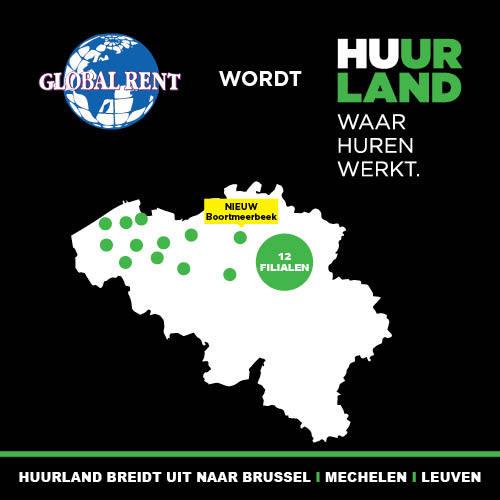Huurland breidt uit naar Boortmeerbeek