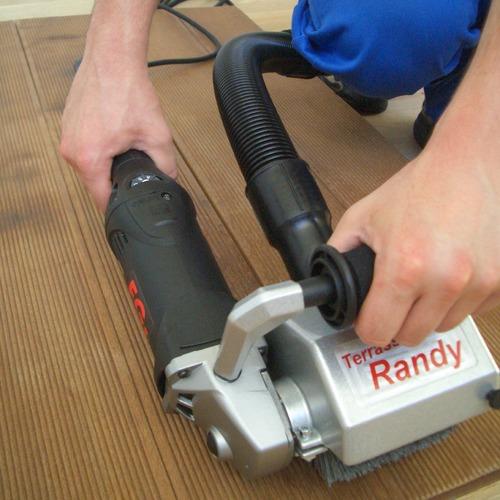 Foto terrassenreiniger kantenmachine