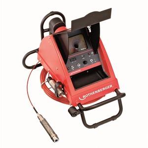 Rioolcamera met digitale meterteller