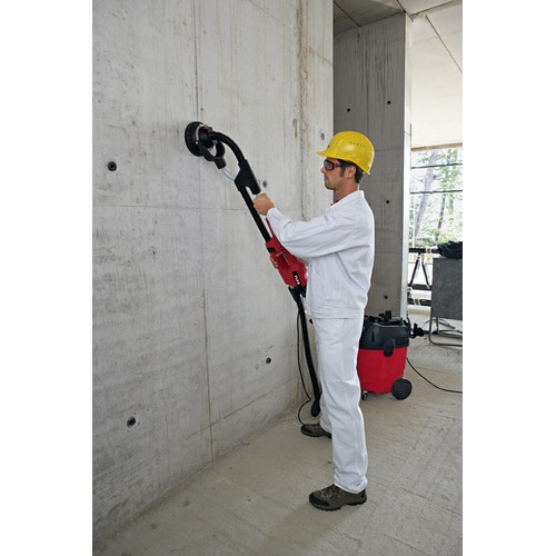 Foto wand- en plafondschuurmachine beton
