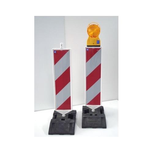 Foto Markeringsbaken rood/wit