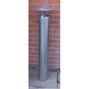 Conduit de cheminée extérieure 200 mm