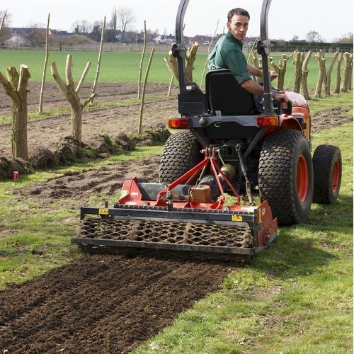Overtopfrees 110 cm voor tractor