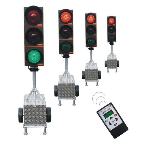 Foto Set tijdelijke verkeerslichten LED