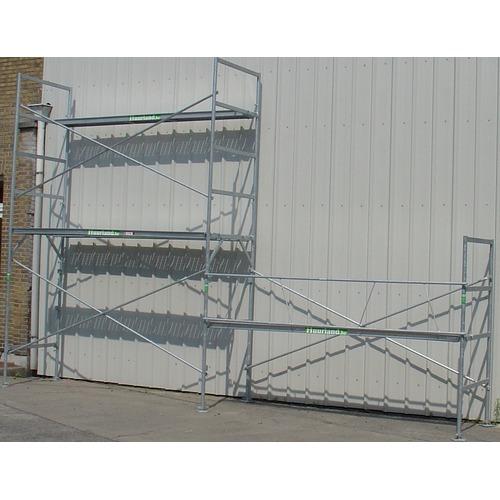 Échafaudage de façade 3 x 18 = 54 m²