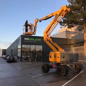 Kniktelescoop zelfrijdend 16m 4x4 diesel