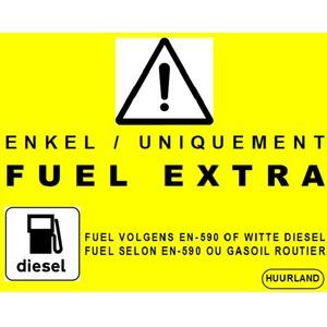 Remplissage diesel Extra EN590 (par L)