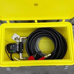 Dieselpomp elektrisch in koffer