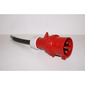 Rallonge 25 m - 5 x 6 mm² tri. 32 A IP67