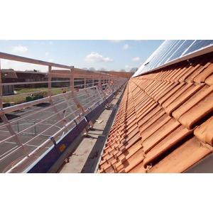 Garde-corps RSS toit incliné 12 m