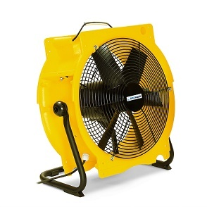 Waarom een ventilator huren bij een bouwdroger ?