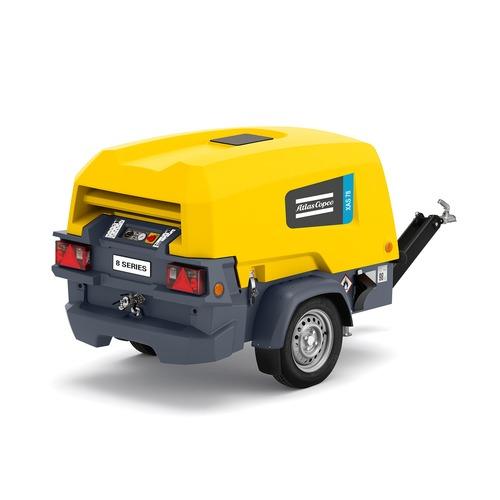 Compressor 4000 L-min met NK (diesel)