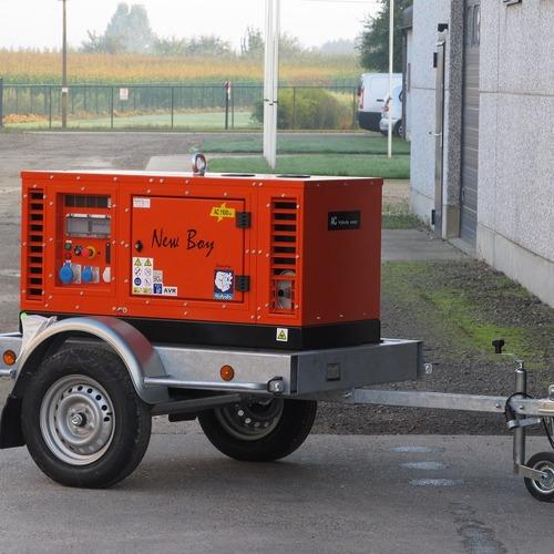 generator 12 kva op remorque 2
