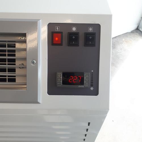 foto mobiele airco 6 kw Split bedieningspaneel