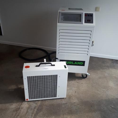 foto mobiele airco 6 kw opstelling