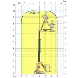 Masthoogwerker elektrisch 10m