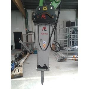 Marteau piqueur hydraulique 375 kg