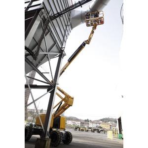 Kniktelescoop zelfrijdend 20m 4x4 diesel