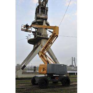 Kniktelescoop zelfrijdend 26m 4x4 diesel