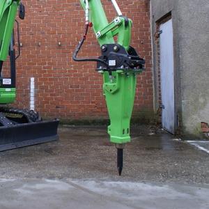 Marteau piqueur hydraulique 150 kg