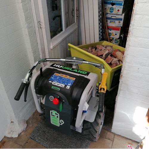 Motorkruiwagen 300 kg elektrisch foto 05 door woning