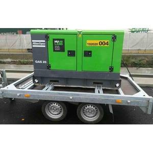 Remorque pour générateur 20-45 kva