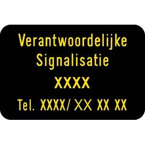 Verkeersbord verantw. signalisatie