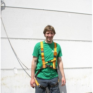Harnais anti-chute avec ligne de vie
