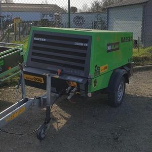 Compressor 4000 L/min met NK (diesel) 08