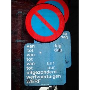Panneau E1 interdit de stationner BRUGES