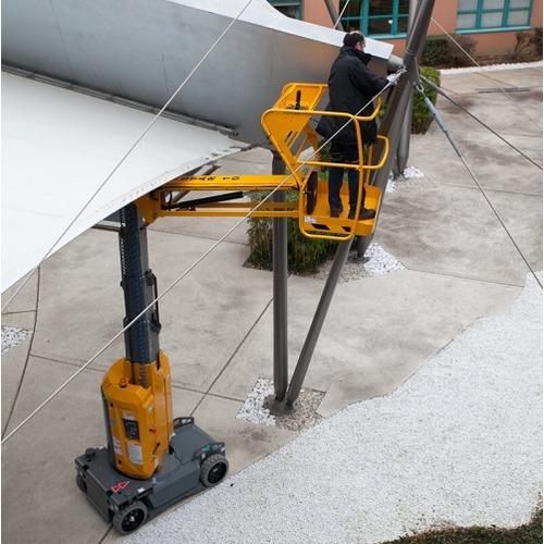 Nacelle à mât électrique 10 m